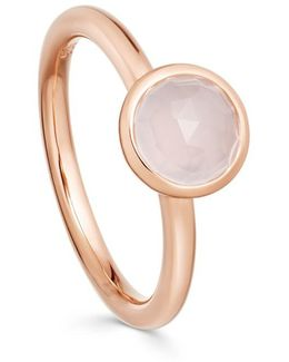 Moonstone Round Stilla Ring