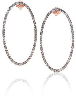0.5 Mg Oval Earrings
