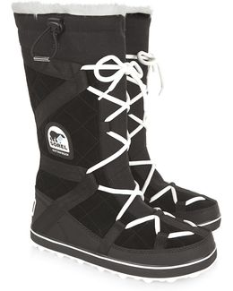Black Glacy Explorer Long Boots