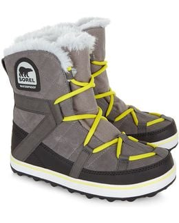 Grey Glacy Explorer Shortie Boots