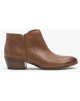 Petty Leather Ankle Boots
