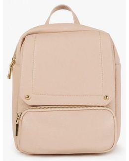 Foldover Front Backpack
