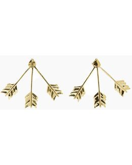 Triple Arrow Earring