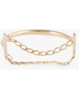 Double Chain Ring And Band