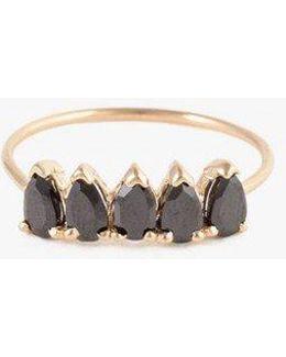 Onyx Band Ring