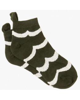 Terrry No Show Sock