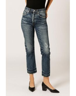 Gia High Rise Ankle Jean