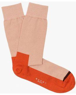 Heel Stripe Sock