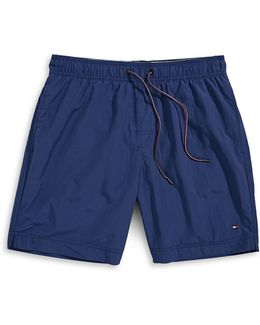 Tommy Solid Swim Trunks