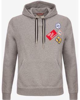 Patch Hooded Sweatshirt