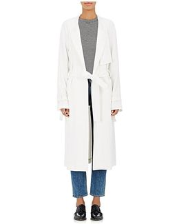 August Crepe Trench Coat