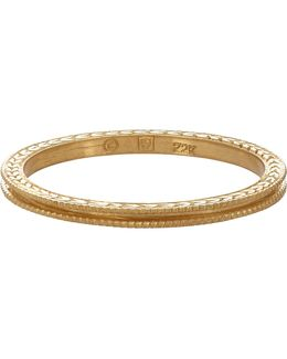 Women's Double Milgrain Band
