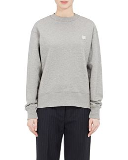 Fairview Emoji Face Cotton Sweatshirt
