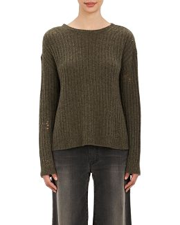 Baxter Distressed Cashmere Sweater