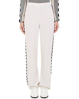 Checked Virgin Wool Lounge Pants