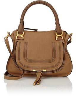 Marcie Medium Leather Satchel