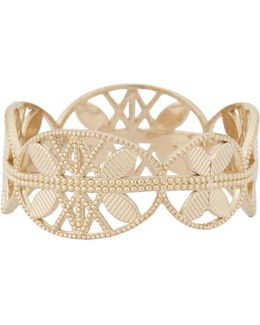 Gold Lace Aztec Ring