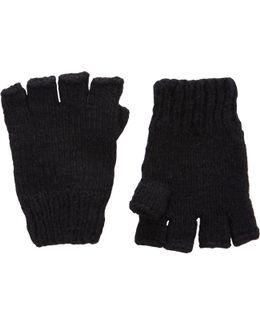 Mélange Fingerless Gloves