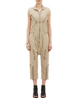 Twill Harem Flightsuit
