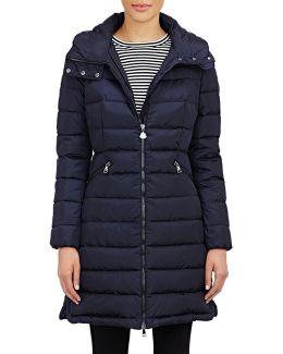 Hooded Flammette Coat
