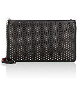 Loubiposh Spiked Clutch Bag