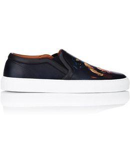 Rottweiler-print Skate Sneakers