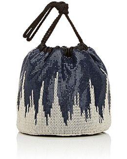 Sac Mesh Bucket Bag