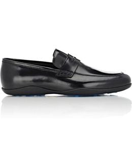 Leather Downing Penny Loafers