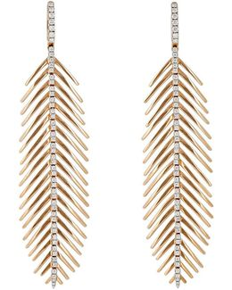 Feathers That Move Earrings