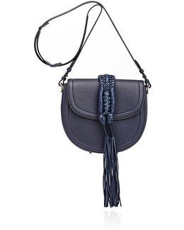 Ghianda Knot Small Saddle Bag