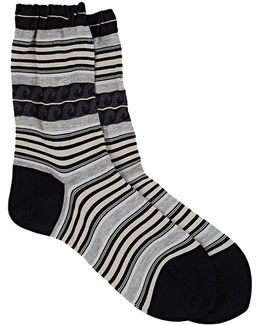 beachside Waves Trouser Socks