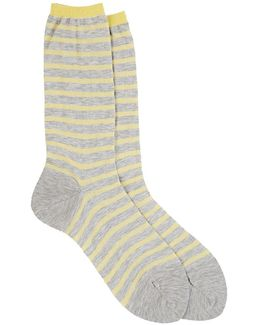 Striped Long Trouser Socks
