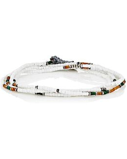 Wrap Bracelet & Beaded Necklace
