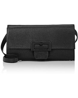 Long Flap Clutch Bag