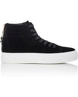 140mm Velvet Sneakers