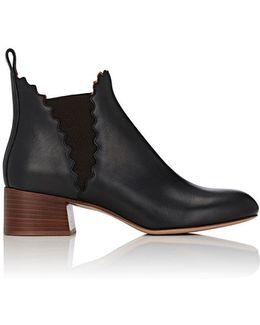 Lauren Leather Chelsea Boots