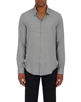 Glen Plaid Cotton Shirt