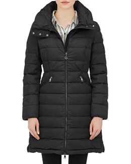 Flammette Quilted Down Coat