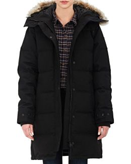 Massey Quilted Down-filled Parka Jacket