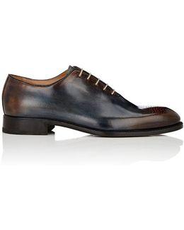 Burnished Leather Wholecut Balmorals