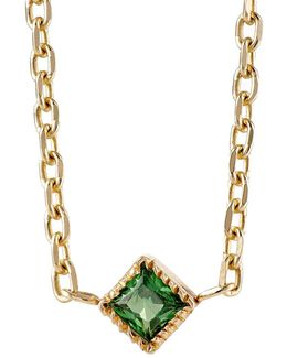 Emerald Choker Necklace
