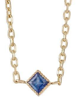 Blue Sapphire Choker Necklace