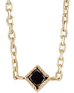 Black Diamond Choker Necklace