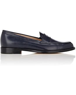 Vazca Leather Penny Loafers