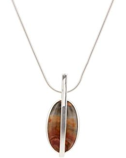 Large Stratum Pendant Necklace
