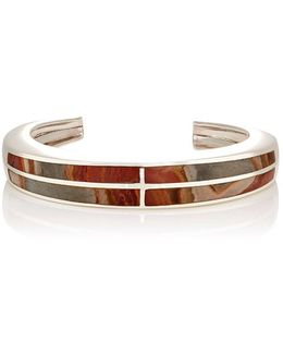 Inlay Cross Cuff