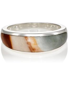 Inlay Cocktail Ring