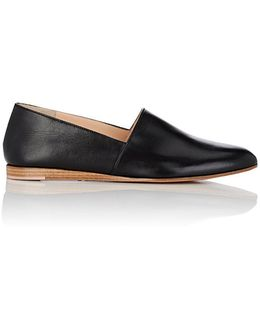 Corsica Leather Flats