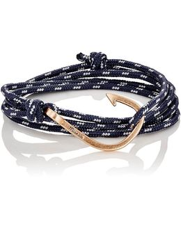 Hook On Rope Wrap Bracelet