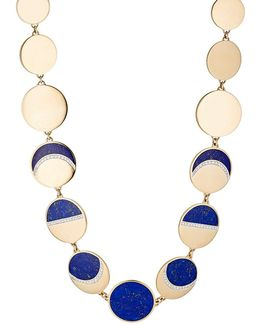 Moon Phase Collar Necklace